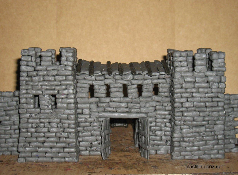 Средневековые замки своими руками фото